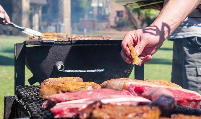 Top BBQ im Garten